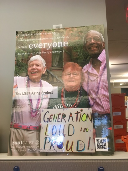 LGBT aging project poster